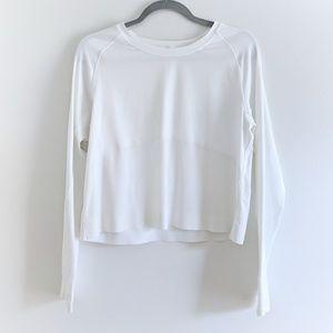 Lululemon - Long Sleeve White Top